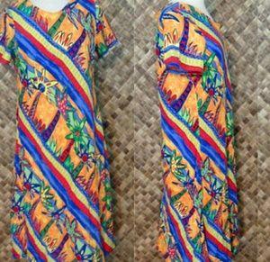 HILO HATTIE womens HAWAIIAN Dress.
